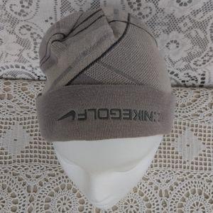 NikeGolf Grey Beanie Ski Cap